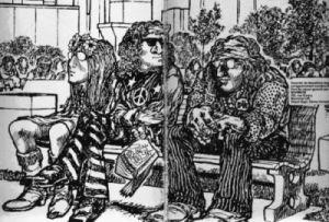 Le Hippie dans la BD 40ansplustard